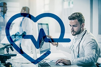 Doctor with Heart Icon